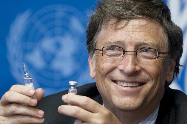 "Image: Bill Gates killed poor tribal Indian girls through PATH ""vaccine"" initiative"