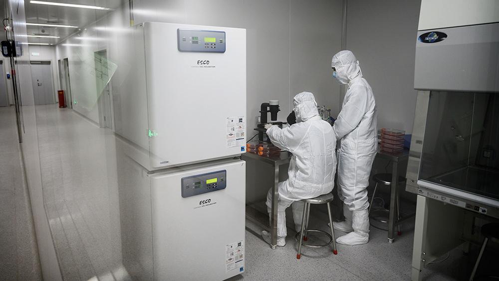 Image: Comedian Jon Stewart suggests coronavirus is man-made, mocks Wuhan lab
