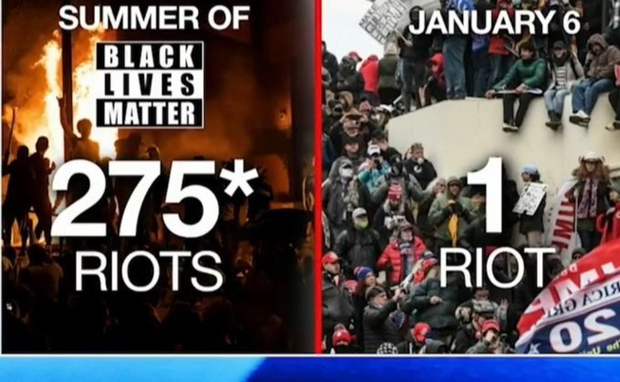 Confirmed: Jan. 6 Protest Resulted in Estimated $1.5 Million in Damages — Or 1/1000th of Damages by Black Lives Matter-Antifa Protests in 2020