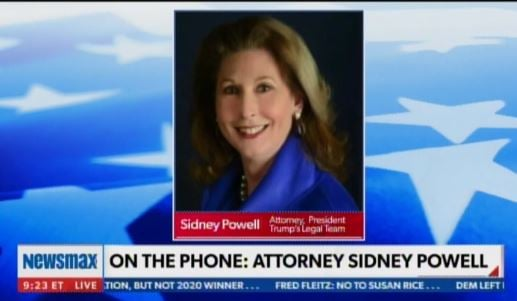 """Flashback: Sidney Powell Says Thousands of Votes Were Added to Every Arizona Democrat Candidate – """"I'd Be Willing to Bet It Happened Everywhere"""""""