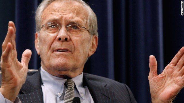 Former Secretary of Defense Donald Rumsfeld Dead at 88