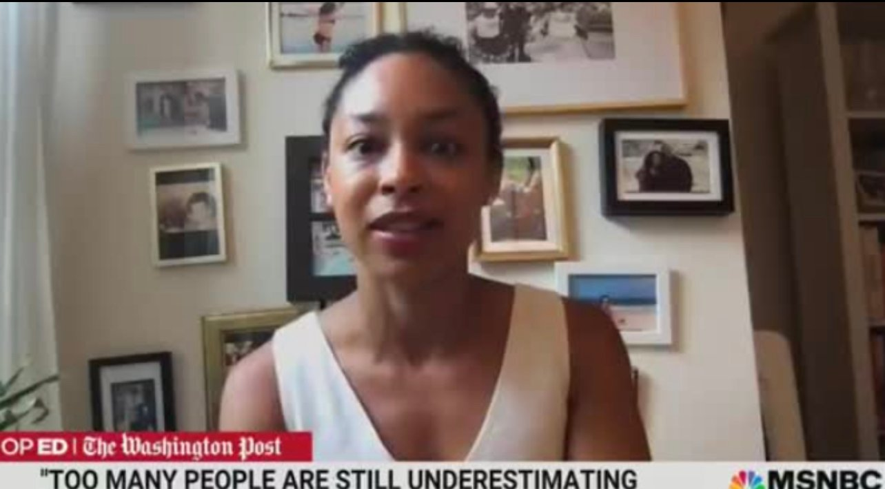 """MSNBC Analyst and NY Times Editor Mara Gay: The Sight of American Flags is """"DISTURBING"""""""