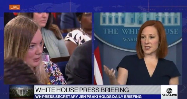 """NYT Reporter and Jen Psaki Tag-Team to Mock """"Republicans and Conservatives Going Crazy"""" Over Kamala Harris's Dumpster Fire Interview with Lester Holt (VIDEO)"""