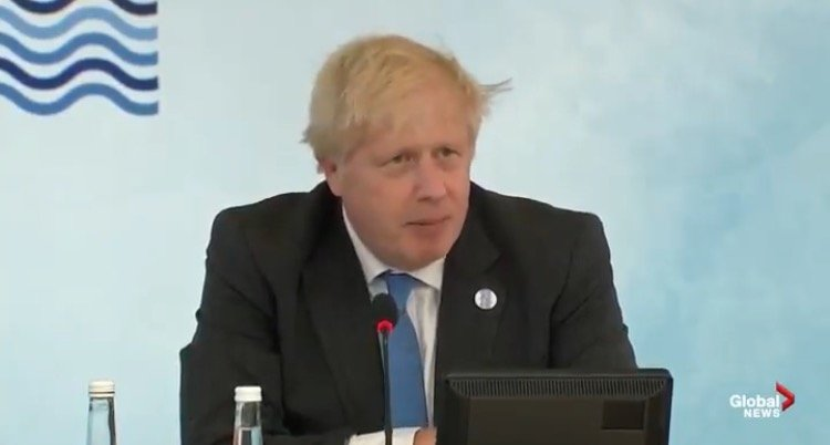 UK Prime Minister Boris Johnson: G7 Nations Must Build Back in a Greener, More Gender Neutral and Perhaps More Feminine Way (VIDEO)