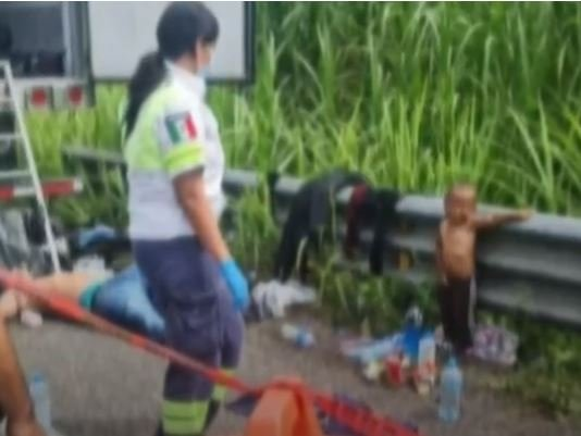 Biden's Open Borders: 2-Year-Old Migrant Child Dropped Off on Mexican Highway Next to Corpse