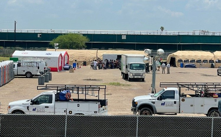 McAllen Constructs Emergency Shelters For Illegals Released by Border Patrol: 'Alarming Number of Illegals Released Into US Are NOT Tested For Covid'
