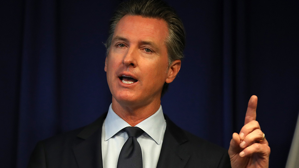 Image: Is Newsom RIGGING his recall election with mass ballot stuffing, just like the Dems did in the 2020 election?