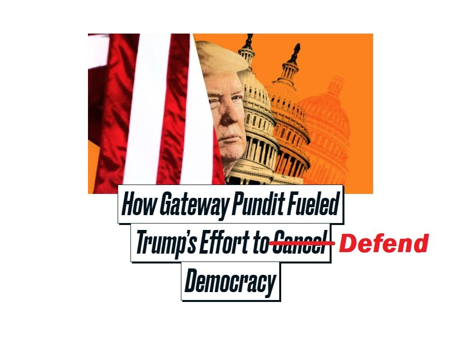 Over the Target: Fake News Specialists at Daily Beast Publish Hit Piece on Gateway Pundit, Trump and Stolen Elections