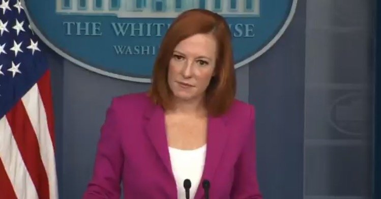 Psaki Blames Trump For Record Number of Illegals Pouring Over Border, 'We're Improving a System That Was Broken When We Took Office' (VIDEO)