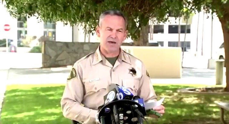 'Govt Has No Authority to Mandate Health Choices' – Hero SoCal Sheriff Says He Will Not Enforce Covid Vaccine Mandate on Employees