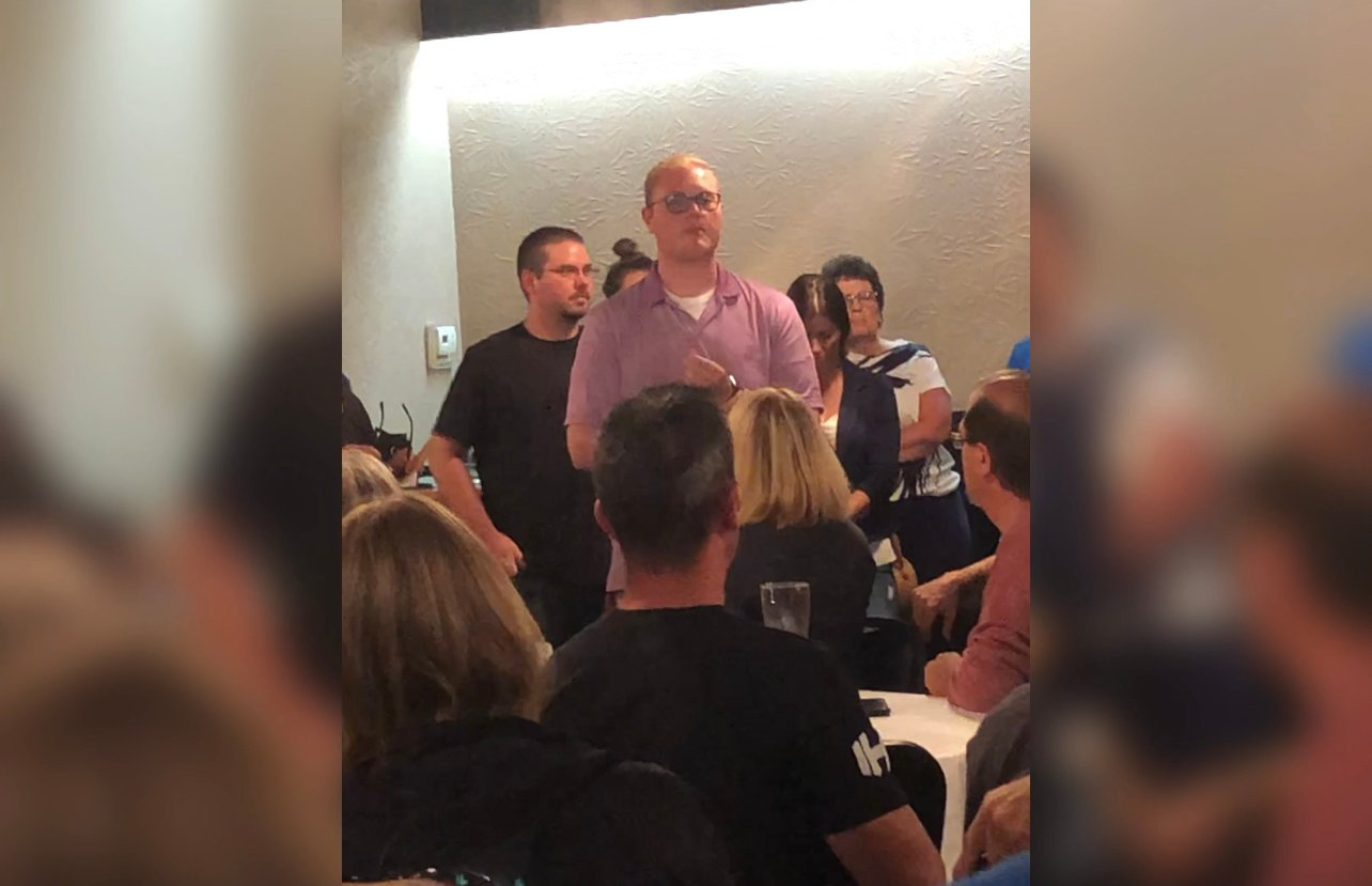 Another Individual Speaks Out His Horrible Vaccine Reaction at the Meeting Against West Virginia University Hospital Mandatory Vaccine Mandate