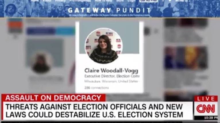 CNN Carries Water for Corrupt Wisconsin Official – Blames Gateway Pundit After She Receives Threats over Election Night Emails (VIDEO)