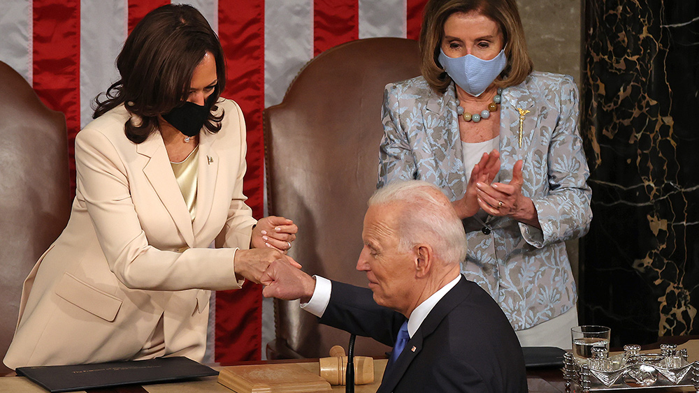 Image: Employers are uniting and preparing lawsuits against Biden's seditious vaccine and testing mandates