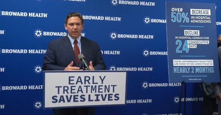 """I Will Fight Like Hell to Stop Joe Biden"" – DeSantis Responds to Biden's Decision to Slash Monoclonal Antibody Treatments Sent to Florida (VIDEO)"