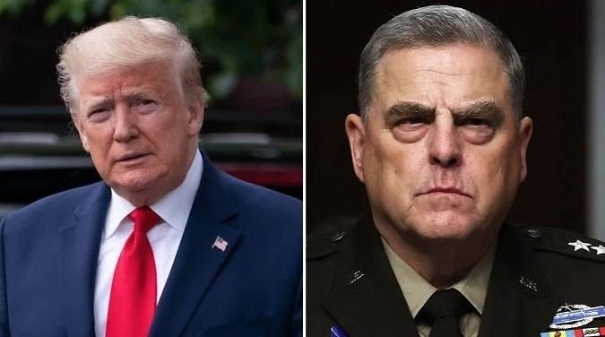 """""""If the Story of """"Dumbass"""" General Mark Milley Is True – I Assume He Would Be Tried for Treason"""" – President Trump Releases Statement on Dirtbag Mark Milley"""