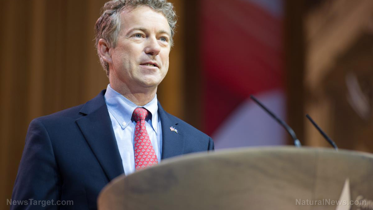 Image: Sen. Paul says 'Fauci lied again'; lying to Congress could result in jail time