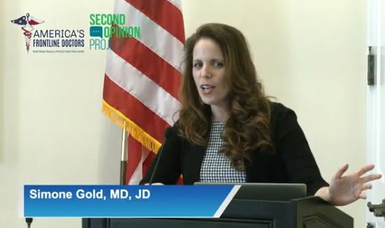 """""""The CDC is Now Listing Vaccinated COVID-19 Deaths as Unvaccinated Deaths if They Die Within 14 Days of the Vaccine"""" – Dr. Simone Gold"""