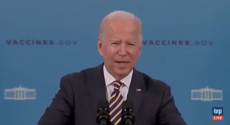 Biden Walks Away AGAIN without Taking Questions After Falsely Claiming Vaccine Mandates Had Nothing to do with Southwest Airlines' Flight Cancelations (VIDEO)