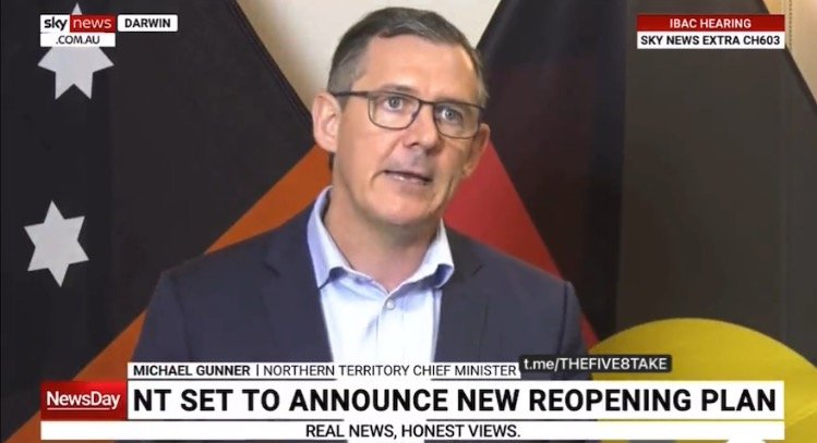 Australia: Northern Territory Chief Minister to Frontline Workers: Get the Covid Jab by Nov. 13 or Lose Your Job and Pay a $5,000 Fine (VIDEO)