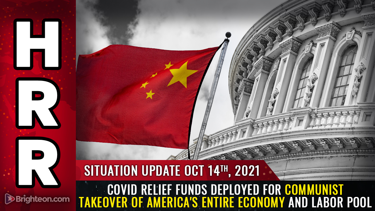 Image: EXCLUSIVE: COVID relief funds distributed to cities and states require full compliance with Biden vax mandates; counties can use money to bankrupt and REPLACE local businesses