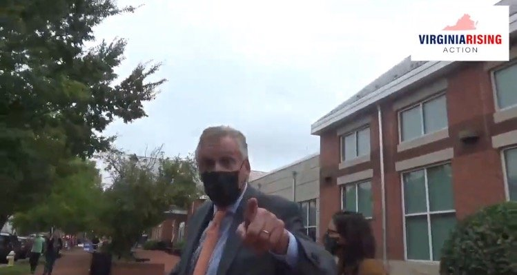 """""""Have You Been Vaccinated Yet?! You're Dangerous"""" – Terry McAuliffe Loses His Temper When Asked About His Stance on Parents Being Involved in Their Child's Education (VIDEO)"""